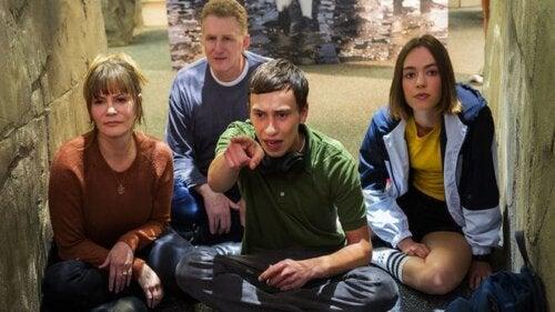 Familia del protagonista de la serie Atípico.