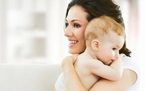Destete nocturno respetuoso con el bebé y con la madre