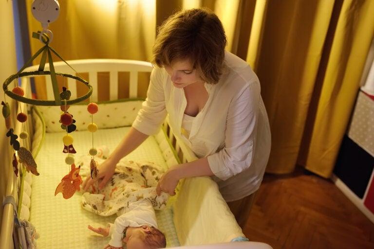 Cómo dormir bien en familia durante los primeros 6 meses del bebé