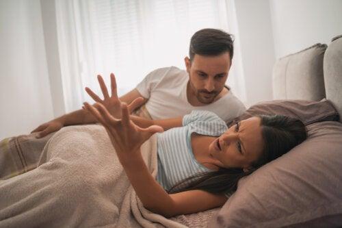 Discusiones de los padres cuando van a tener su primer hijo