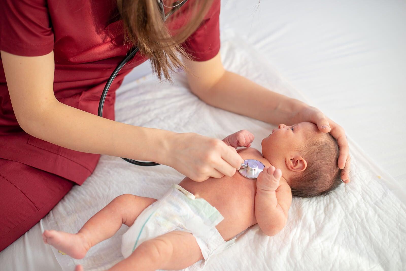 Soplo cardíaco en el bebé