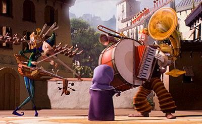Imagen del cortometraje El hombre orquesta para reflexionar sobre el problema de la rivalidad.