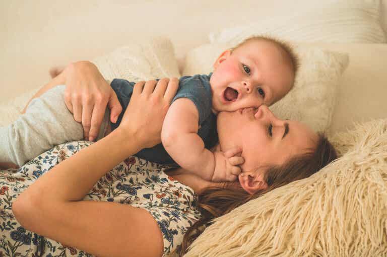 Me siento agradecida por el caos de la maternidad