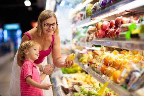 Aprender matemáticas en el supermercado