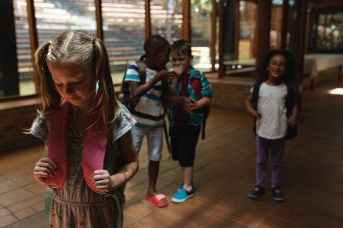Los apodos en los niños pueden acabar convirtiéndose en acoso escolar