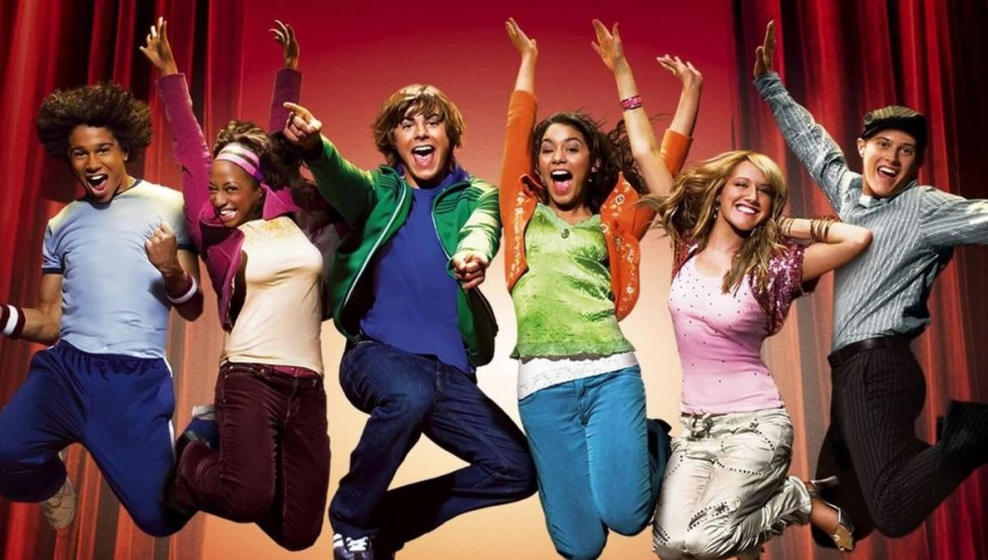 High School Musical, una de las películas musicales para adolescentes más aclamada.