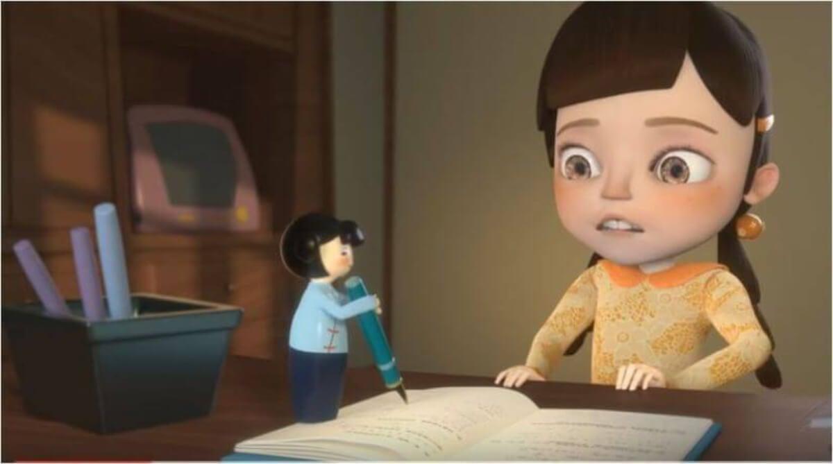 Imagen del cortometraje Easy life.