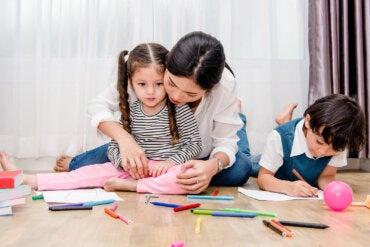 Cómo analizar los dibujos de los niños según los colores que usan