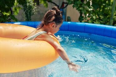 4 peligros de las piscinas hinchables en verano