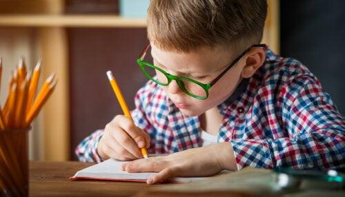 Etapas en la adquisición del lenguaje escrito