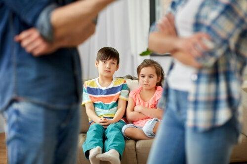 ¿Por qué es importante reconciliarse delante de los hijos?