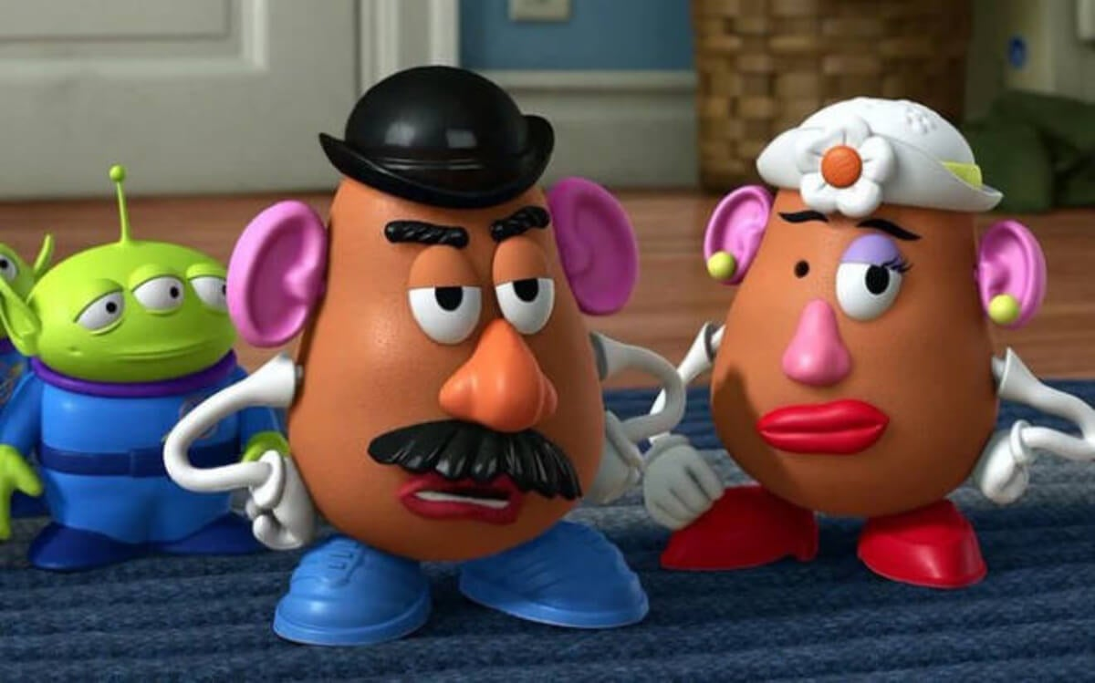 Mr. y Mrs. Potato en Toy Story.