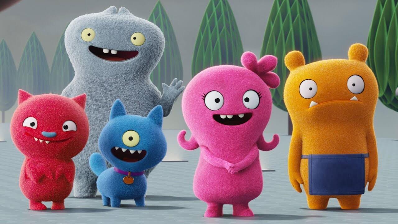 Protagonistas de la película UglyDolls.