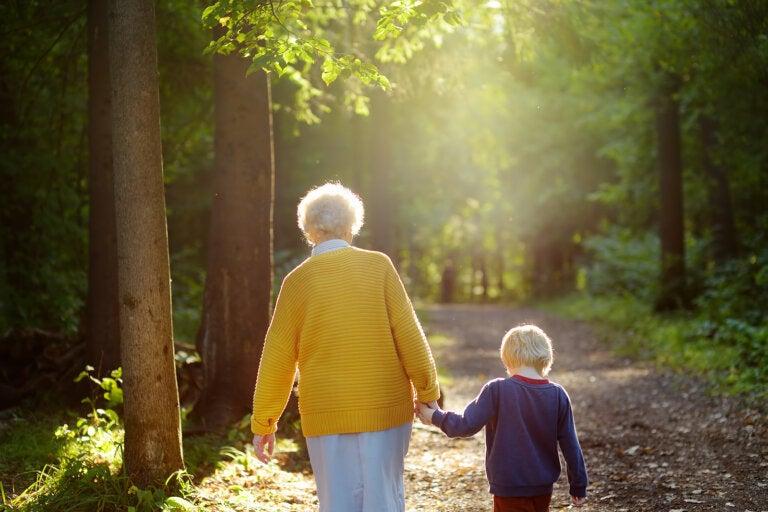 Gracias abuelas por ser esa luz que guía a los nietos