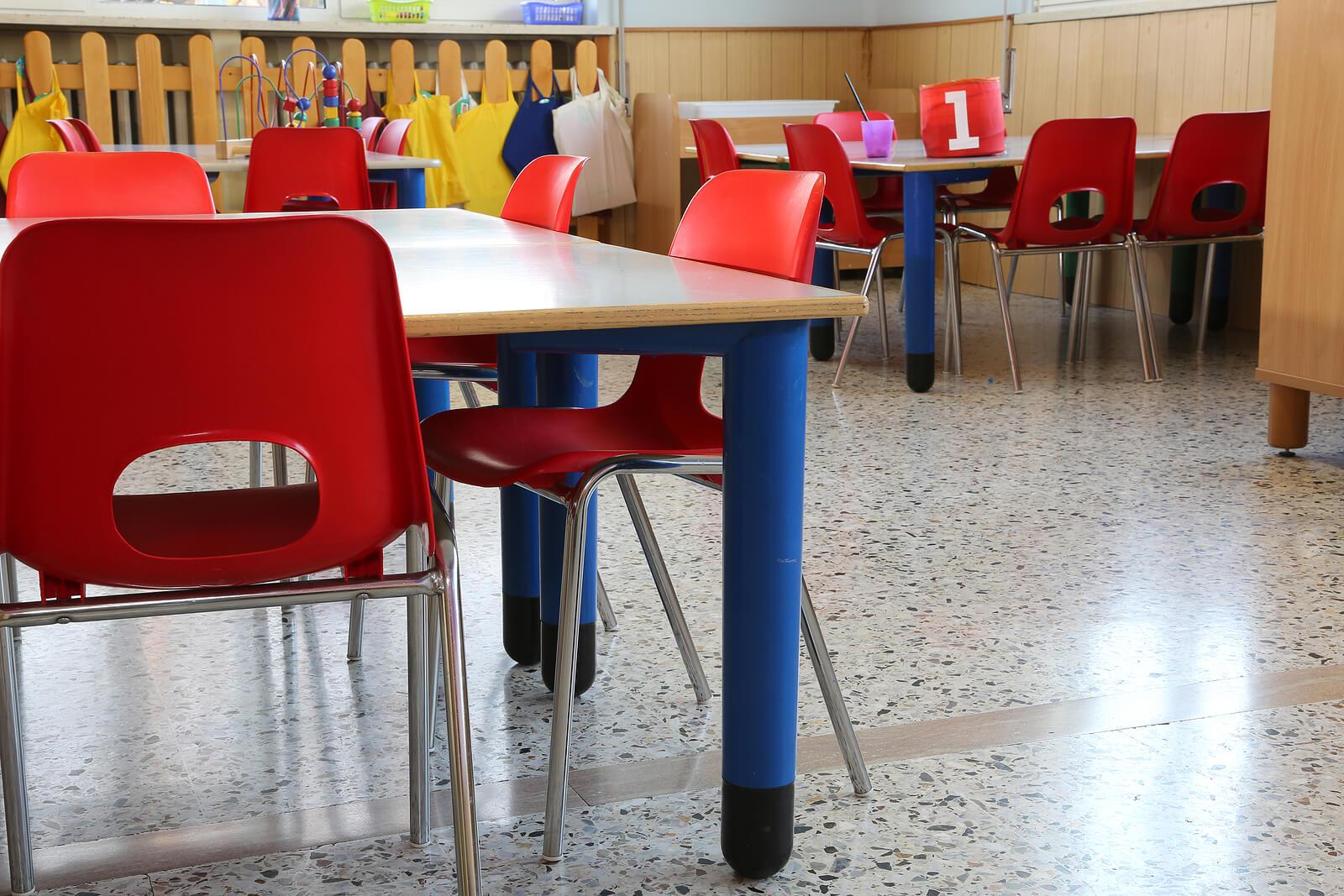 Aula Montessori.