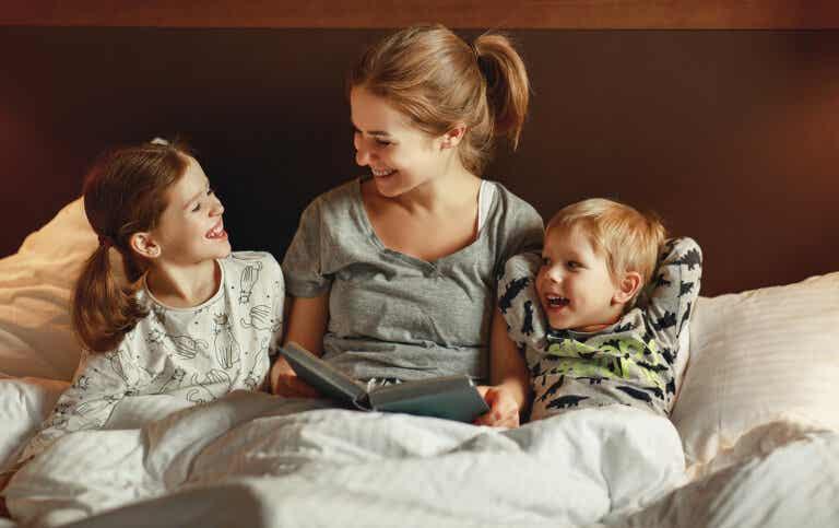 Los beneficios de la lectura compartida en niños prelectores