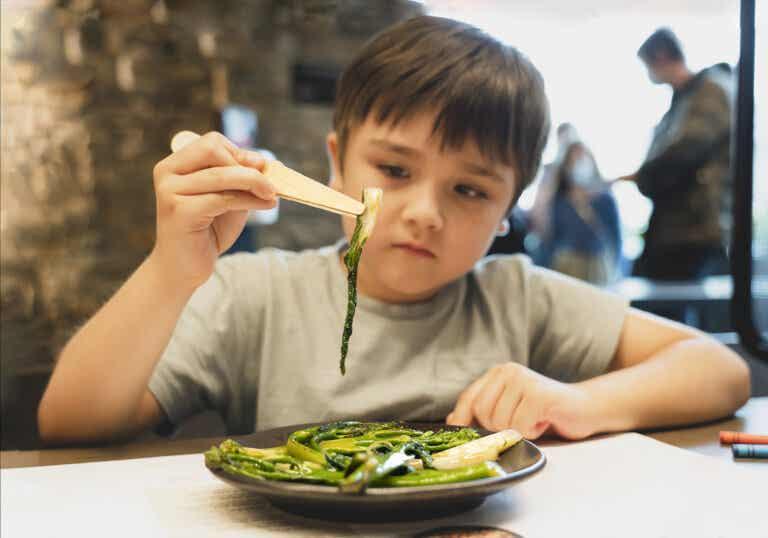Cómo aumentar el consumo de verduras en niños