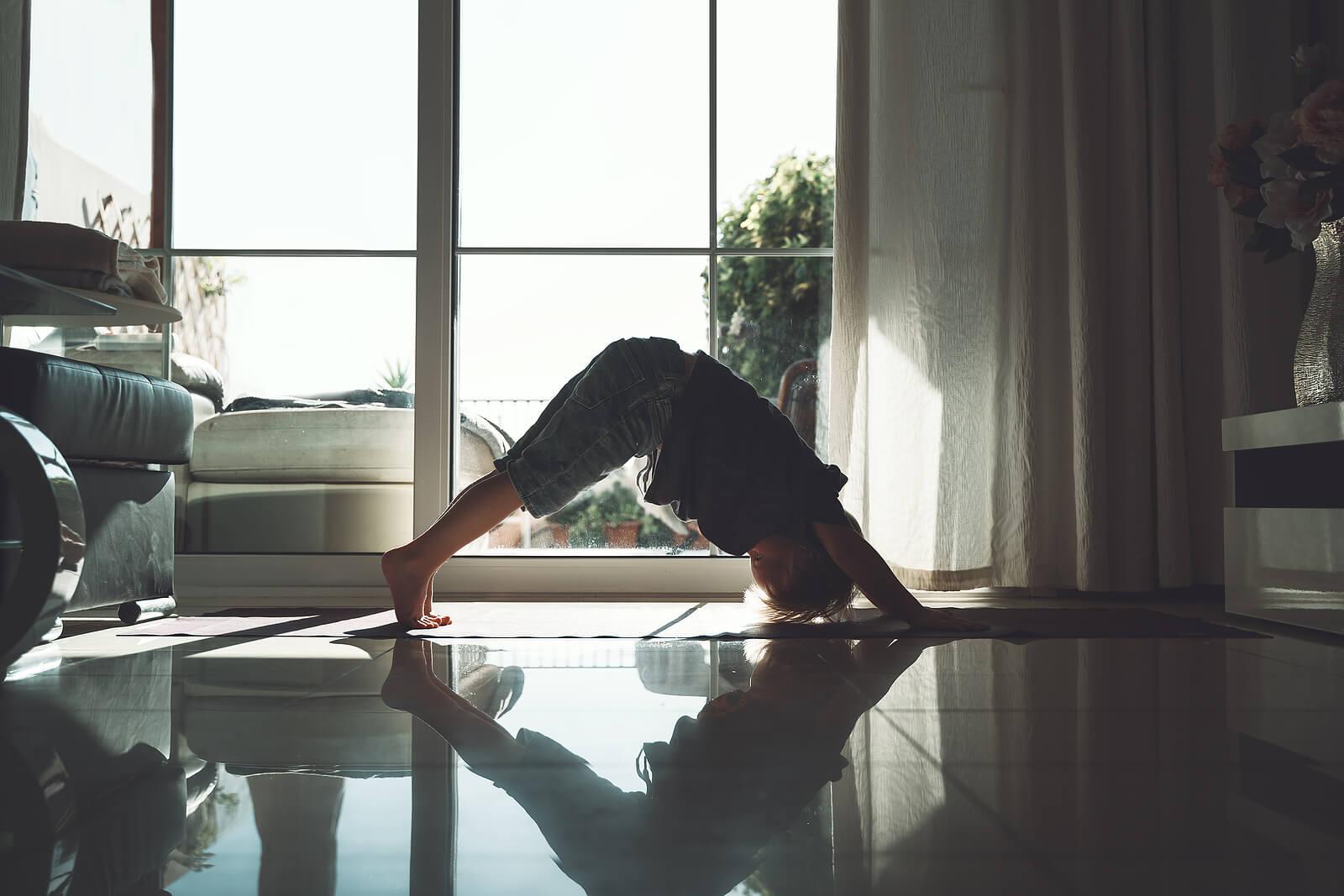Ejercicios de meditación para niños