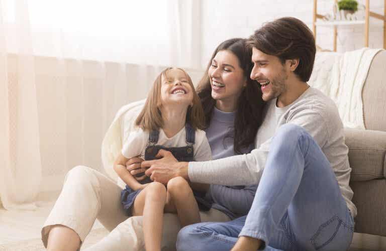 Padres felices, hijos felices: regla básica de la maternidad