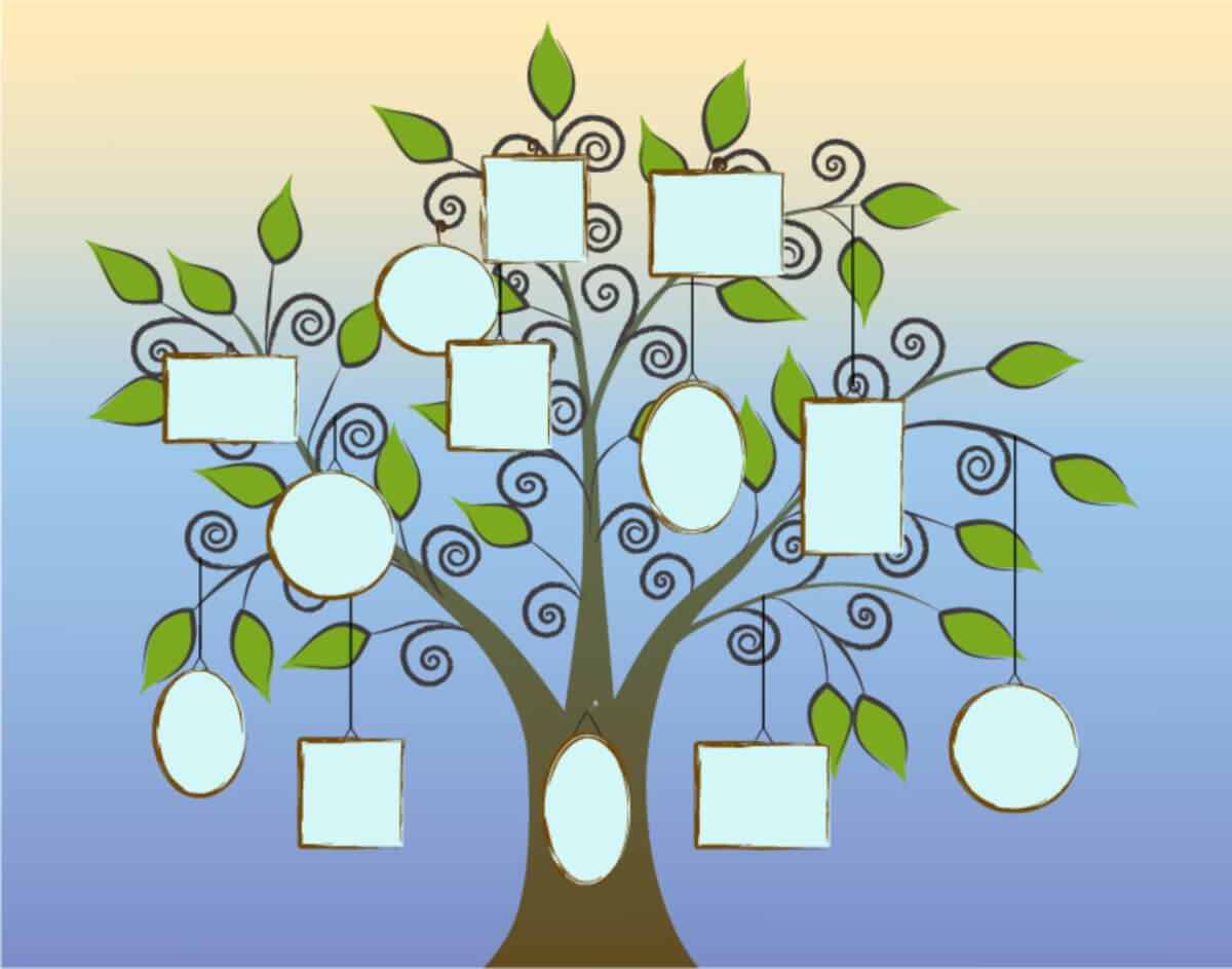 Árbol genealógico para conocer la historia familiar.
