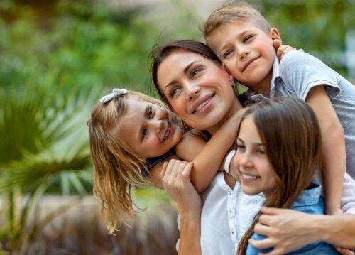 Es bueno que tus hijos te perciban como una madre imperfecta