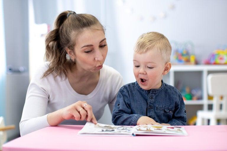 Cómo desarrollar el lenguaje expresivo y receptivo en niños pequeños