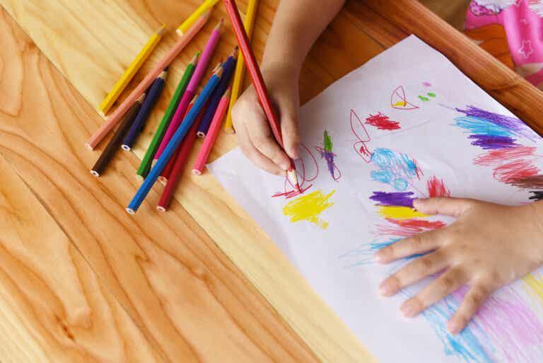 El dibujo como primera escritura del niño