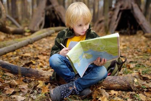 Actividades con mapas muy divertidas para niños