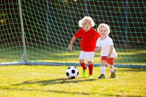 Beneficios del fútbol para niños