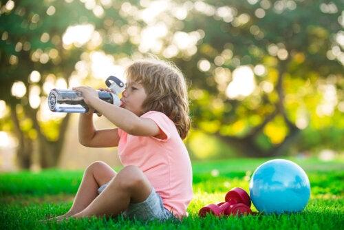¿Por qué deben practicar deporte los niños?