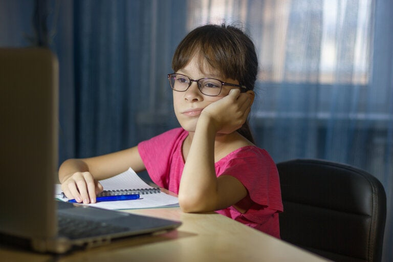 Los niños también necesitan descansar la mente