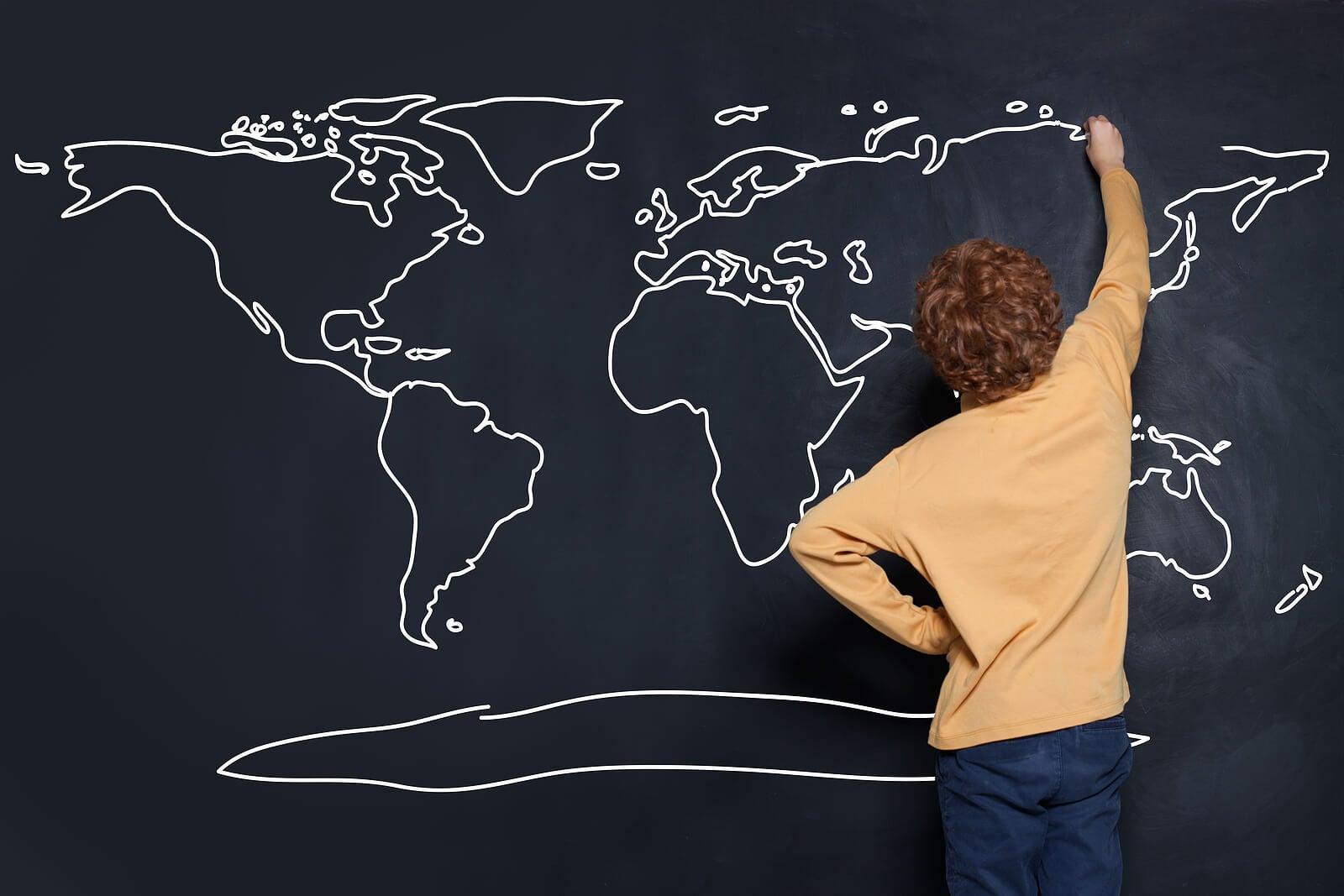 Juegos educativos de geografía para niños