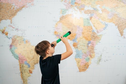 Cómo crear un mapamundi infantil