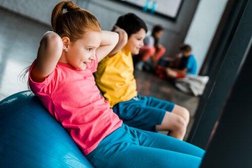 Beneficios del entrenamiento de resistencia para niños