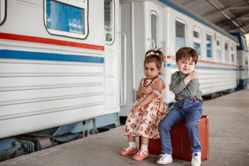 Rituales para decir adiós: cómo pueden ayudar a tus hijos
