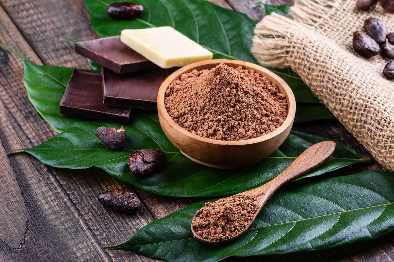 El cacao tiene muchos beneficios para los niños.
