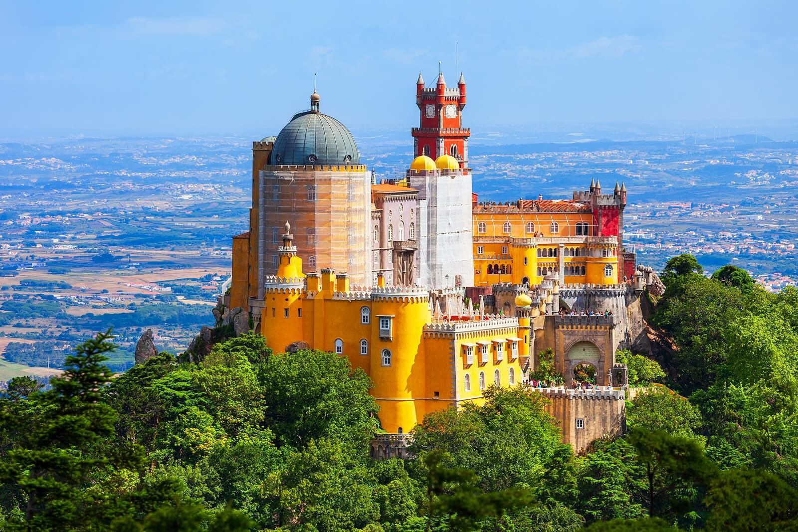 Palacio da Pena, en Portugal.