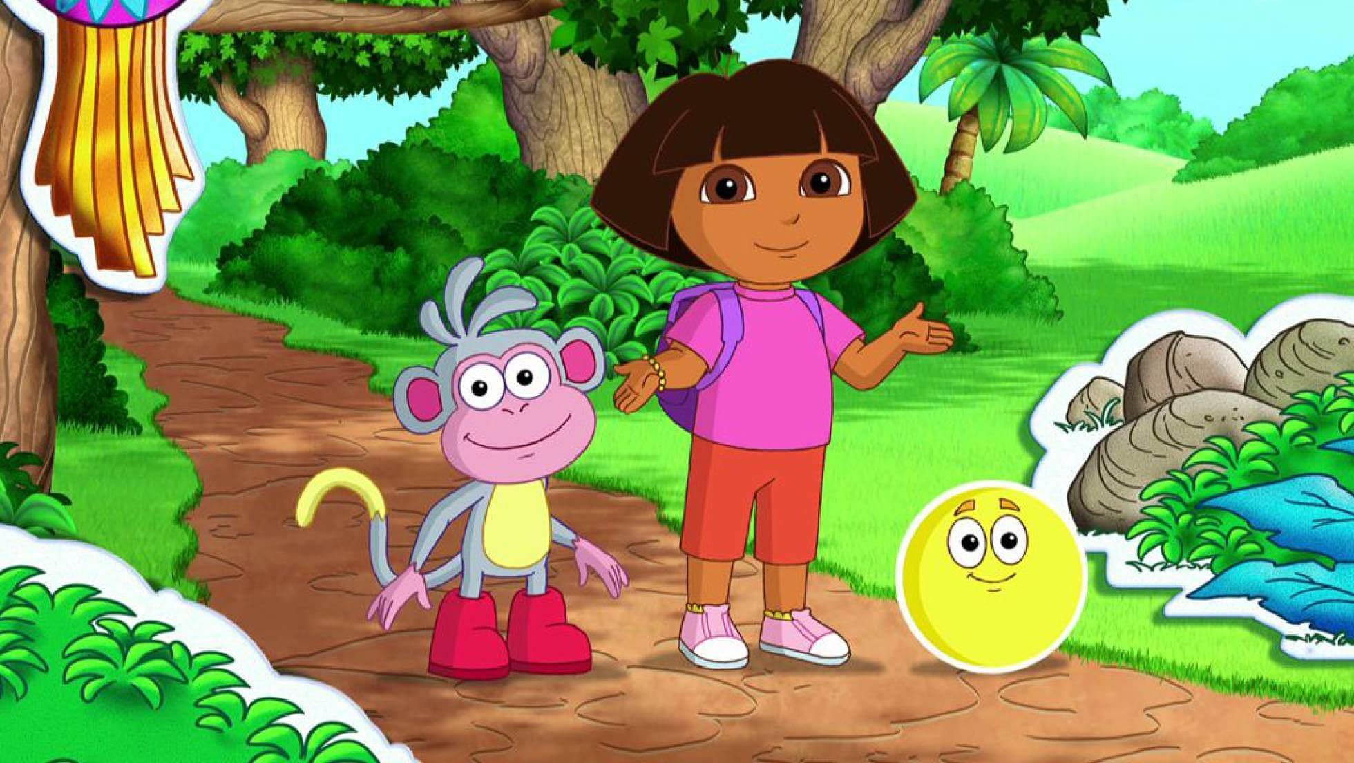 Dora la exploradora, una de las series interactivas más aclamadas.
