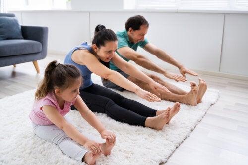 La importancia de hacer que los niños estén activos