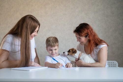 Ser hijo único puede cambiar el desarrollo cerebral