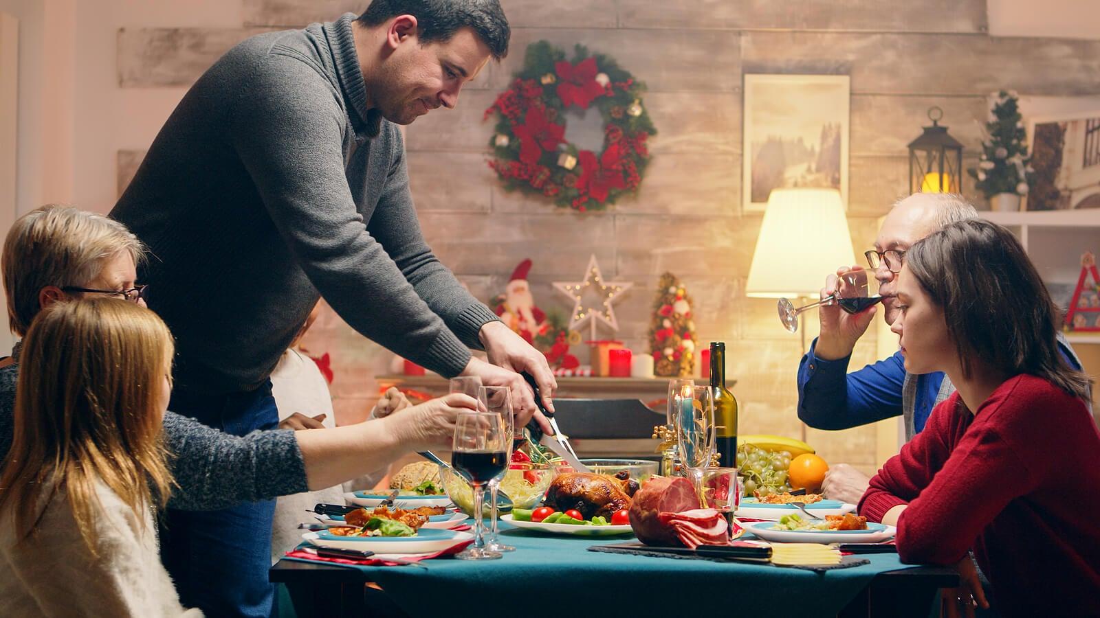 Cena de Navidad para sobrevivir las reuniones familiares.