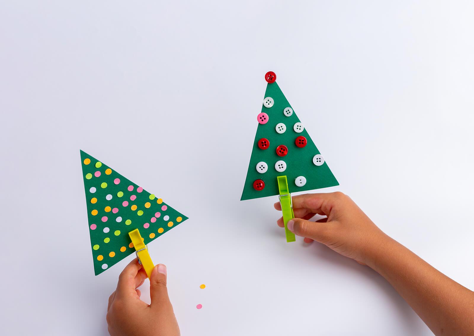 Manualidades de Navidad para hacer con niños.