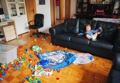 El trastorno de acumulación compulsiva en los niños