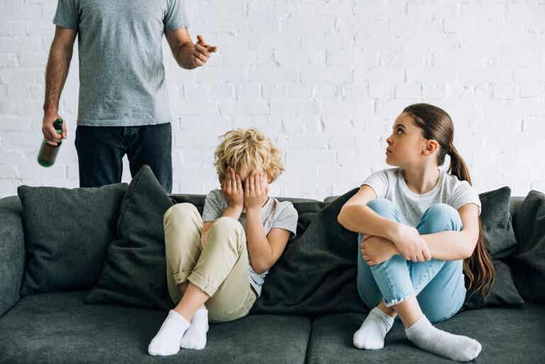Los hijos de padres alcohólicos