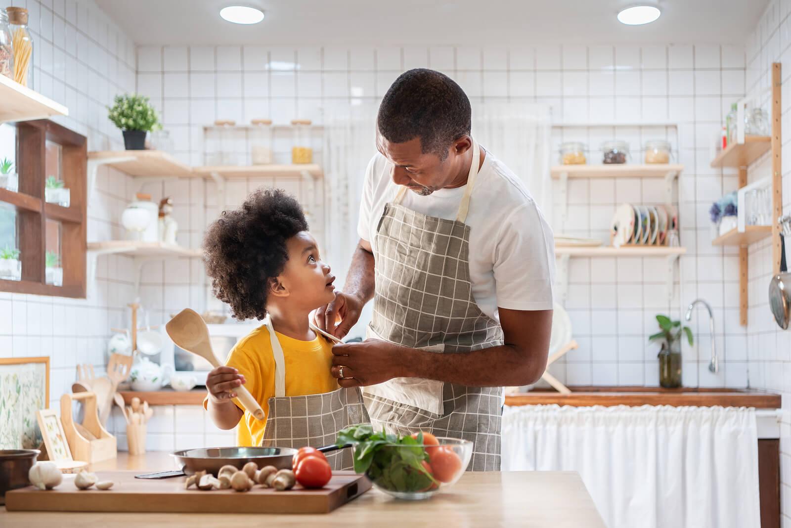 Cómo crear una cocina Montessori en casa