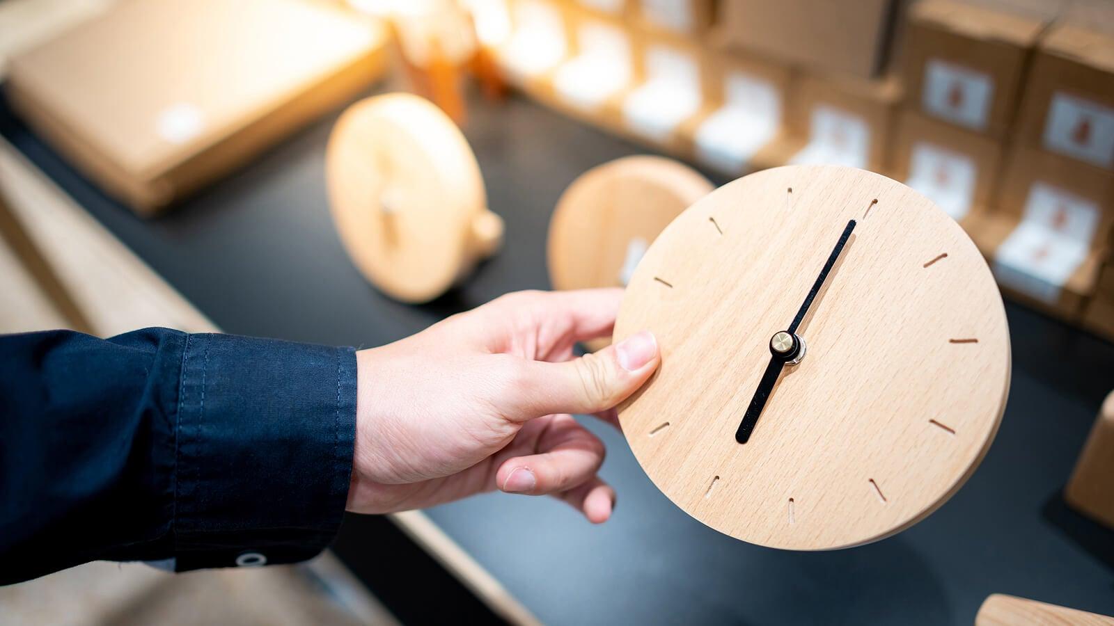 Reloj para aprender las horas.