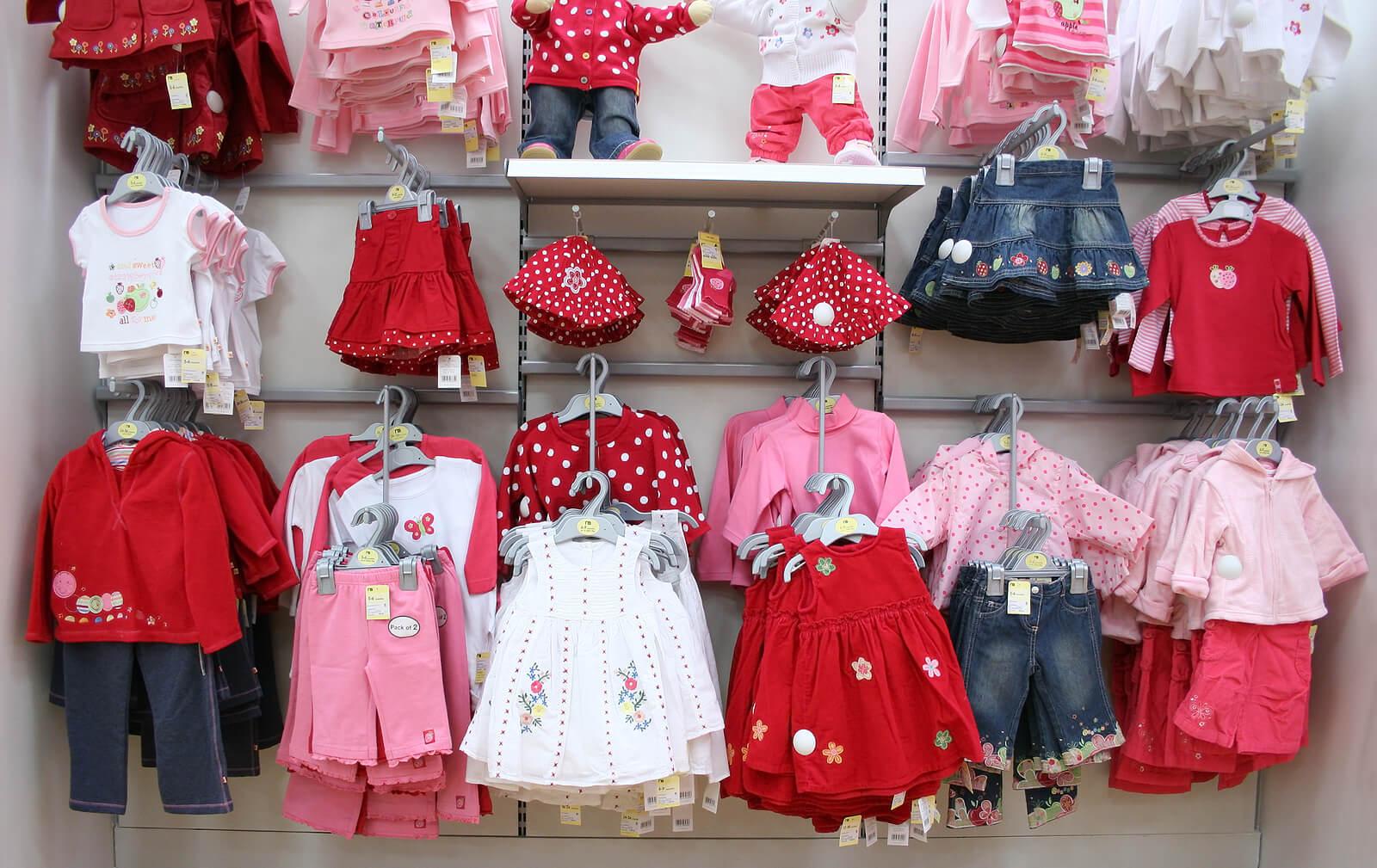 Tienda online para comprar ropa al bebé.
