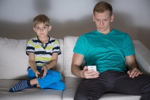 Hijos de padres inmaduros