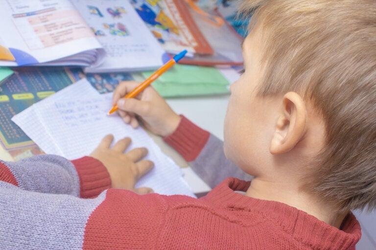 4 beneficios de la escritura a mano para niños