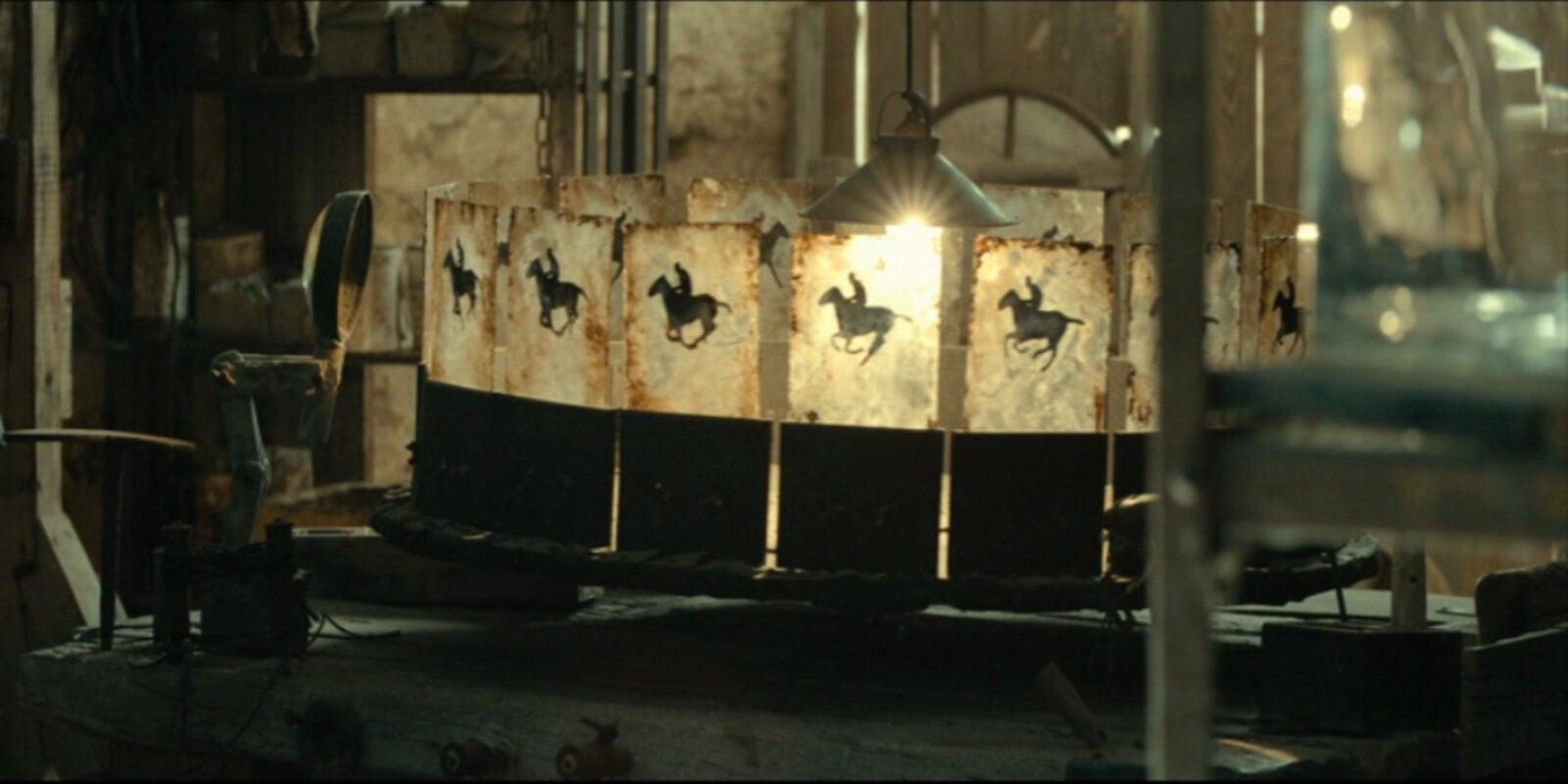 Zoótropo de la película La novia.